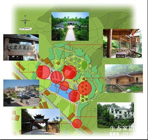 农业旅游发展规划 乡村农家乐 农业景观设计乡旅供
